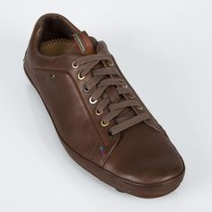 Paul Smith Shoes - Brown Leather Gallo Driving Shoes