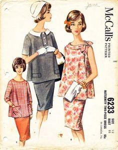 Vintage Maternity Pattern: want!