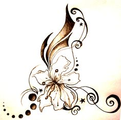 Tiger lily tatoo image by on Photobucket Back Tattoos Spine, Girl Back Tattoos, Back Tattoo Women, Cover Up Tattoos, Lower Back Tattoos, Tatuajes Tattoos, Bild Tattoos, Cute Tattoos, Unique Tattoos
