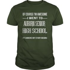 (Tshirt Most Discount) Auburn Senior High School Coupon Today Hoodies Tees Shirts