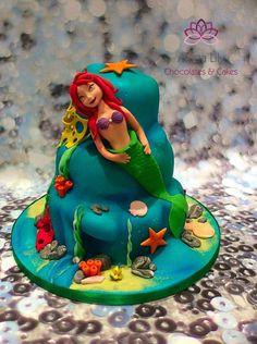 Ariel Cake by Alana Lily Chocolates & Cakes