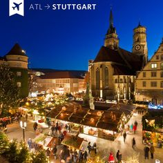 Everyone should visit the Christmas Market in Stuttgart, Germany.  It is very, very special!