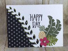 Pop of paradise, Botanical Garden thinlits, Stampin' Up!, BJ Peters, Pop of Pink, #stampinbj, #bjpeters