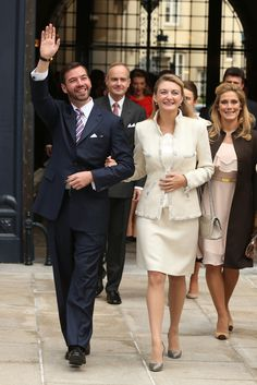 Crown Prince Guillaume - The Wedding Of Prince Guillaume Of Luxembourg & Stephanie de Lannoy - Civil Ceremony