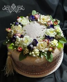 Gallery.ru / Махровый торт - махровые бисквиты - galyusha