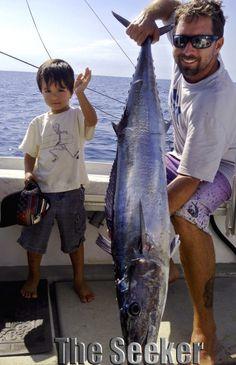 Early Summer Fishing North Shore - Wahoo & Mahi Mahi Season! - Chupu Charters - Sport Fishing Charters in Hawaii