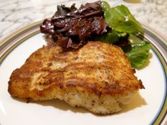 Pan fried cod w/coconut flour, made this for dinner tonight, it was excellent!