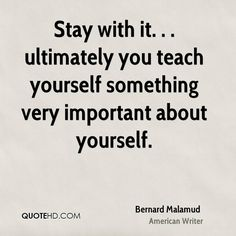 Bernard Malamud Quotes