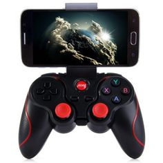 Share and Get It FREE Now | Join Gearbest |   Get YOUR FREE GB Points and Enjoy over 100,000 Top Products,T3 Wireless Bluetooth 3.0 Gamepad Gaming Controller for Android Smartphone