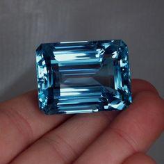157 ct Santa Maria aquamarine. Yes Pease!