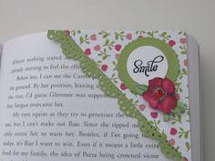 Making corner bookmarks out of envelopes