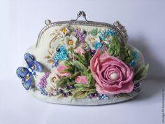 """Купить Сумочка """"Роуз"""" - розовый, розы, розовые розы, сумка с розами, женская…"""
