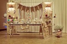 #vintage wedding candy table