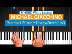 """How To Play """"Married Life"""" (from """"Up"""" OST) by Michael Giacchino   HDpiano (Part…"""