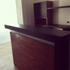 Mueble de recepción fabricado en madera de tzalam. #grupot… | Flickr
