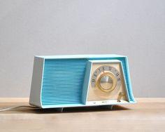 Vintage Motorola Tube Radio. $48.00, via Etsy.
