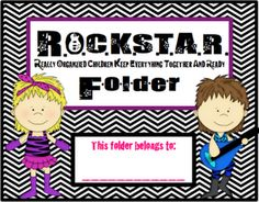 ROCK STAR: Really Organized Children Keep Everything Together And Ready