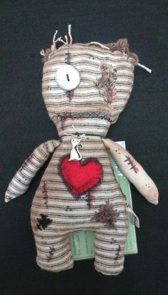 Check out this item in my Etsy shop https://www.etsy.com/uk/listing/385416598/voodoo-doll-juju-doll-art-doll-zombie