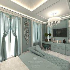 Modern bedroom design idea in a townhouse