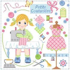 ♥ Passion, Creations, Boutique, Pattern, Index Cards, Bonheur, Cross Stitch, Patterns, Model