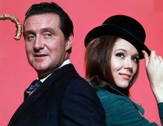 1959 - Chapeau melon et bottes de cuir (Patrick Macnee & Diana Rigg - Chapeau Melon et Bottes de Cuir)