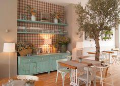 Minty Inspirations: Kawiarnia w stylu shabby chic