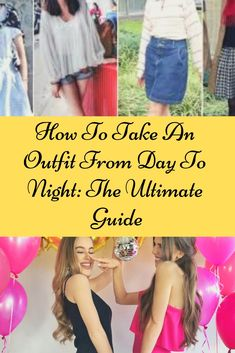 Sara Schaefer's simple guide to taking your outfit from day to night will save you from anxiety, fashion crises, and workplace bathroom nudity. Teen Fashion, Latest Fashion, Fashion Beauty, Girls Evening Dresses, Celebs, Celebrities, School Outfits, Workplace, Take That
