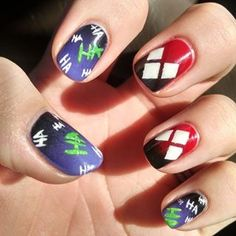 suicide Squad nails 2