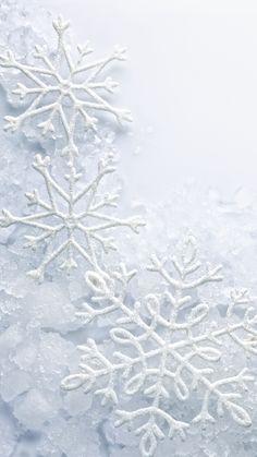 Snowflakes iPhone 7 Plus Wallpaper
