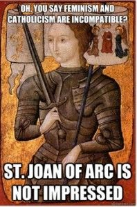 St Joan of Arc and Feminism