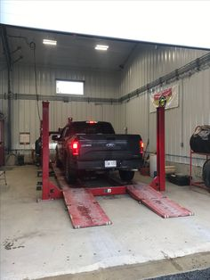 Another F150 getting an alignment