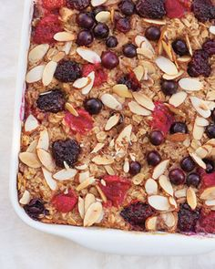 Baked oatmeal brunch recipe for mothers' day