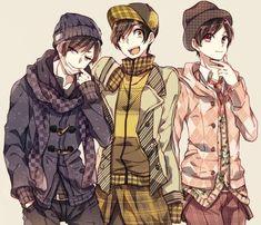 Tiempo junto a los Matsuno (Matsunos x Reader) Onii San, Osomatsu San Doujinshi, Dark Anime Guys, Gekkan Shoujo Nozaki Kun, Ichimatsu, Cute Anime Boy, Manga Illustration, Anime Comics, Haikyuu