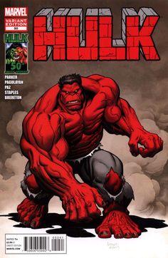 Hulk # 50 (Variant) by Arthur Adams Superhero Villains, Dc Comics Superheroes, Dc Comics Art, Marvel Dc Comics, Hulk Marvel, Marvel Art, Marvel Heroes, Avengers, Comic Book Pages
