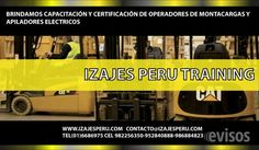 CAPACITACIÓN DE RIGGER En  IZAJES PERU TRAINING  brindamos capacit .. http://lima-city.evisos.com.pe/capacitacion-de-rigger-id-617773