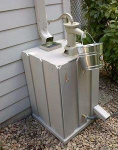 3 Top DIY Rain Barrel Ideas to Gather Water for Garden #gardendesign