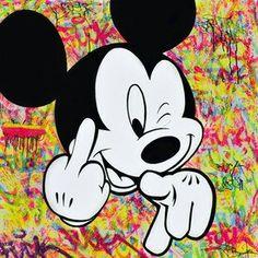 Bardou Bardou Fuck you Peinture Mickey Minnie Mouse, Photos Mickey Mouse, Mickey Mouse Drawings, Mickey Mouse And Friends, Disney Drawings, Cute Drawings, Wallpaper Mikey, Cartoon Wallpaper, Drawing Wallpaper