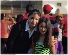 Zaira Ali  en el evento zumba record guinnes queretaro