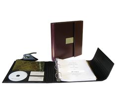 Folio Kit Corporate Kit This new innovative corporate kit provides a unique European design that allows you to add pages without compromising the integrity of the binder. The inside cover has our exclusive pocket to hold additional papers, CD and 2 Business Cards. Choice of   Burgundy. http://www.corpkit.com/store/catalog/-Corporate-Kit-Folio-Kit-p-1635.html
