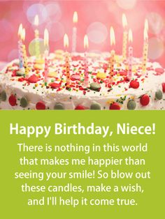 Send Free To an Incredible Niece - Happy Birthday Card for Niece to Loved Ones on Birthday & Greeting Cards by Davia. It's free, and you also can use your own customized birthday calendar and birthday reminders. Birthday Cards For Niece, Happy Birthday Wishes For A Friend, Happy Birthday Nephew, Birthday Wishes Quotes, Happy Birthday Funny, Card Birthday, Birthday Greeting Cards, Happy Birthday Cards, Birthday Reminder