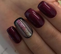 Choosing between countless burgundy nails ideas is a tough job. But, hey, you have all the time in the world ahead, right? Dive in! Nägel Ideen tauchen ein 45 Newest Burgundy Nails Designs You Should Definitely Try In 2020 Red Stiletto Nails, Purple Glitter Nails, Burgundy Nails, Dark Nails, Matte Nails, Coffin Nails, Acrylic Nails, Burgundy Wine, Burgundy Color