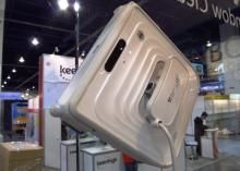 This window-washing robot showing at CES 2013 has easy stick-on and clean operation. But don't chuck your Windex yet. Read this post by Tim Hornyak on CES 2013: Gadgets. via @CNET