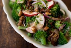 Broccoli Crunch - dinner tonight for Zach and I