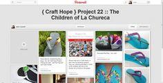 Embellished flip flops for charity