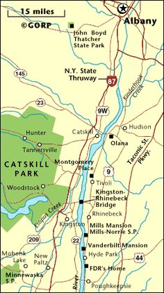 Catskills/Hudson River Valley