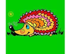 erizo-animales-la-selva-pintado-por-vanessa