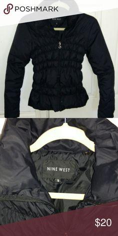 Selling this Cute Nine West fitted bubble jacket on Poshmark! My username is: moelizlaplume. #shopmycloset #poshmark #fashion #shopping #style #forsale #Nine West #Jackets & Blazers