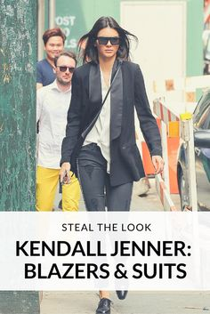 Are you wondering how to get the looks of the model, and reality persona, Kendall Jenner? We have collected some of her best suits and blazer looks, and will show you how you can get the same style with Sumissura.