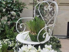 Detalle de un jardincito en Avenue Montaigne que nos encantó.