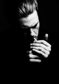 Sin has darker hair than this (and doesn't smoke) but I can't find a picture that looks like him, and this one gives me Sin feels
